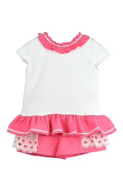 cesar blanco Pink & White Outfit - Product List Image