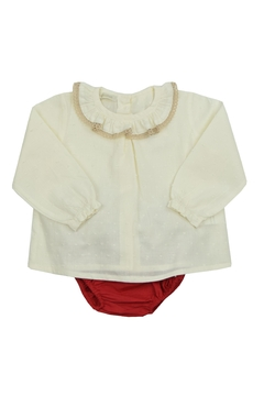 cesar blanco Red Shorts Set - Product List Image
