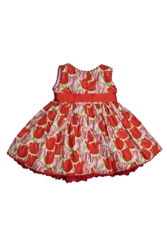 cesar blanco Red Tulip Dress - Alternate List Image