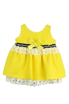 Shoptiques Product: Yellow & Lace Dress