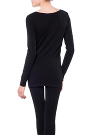 Cest Moi Bamboo Long Sleeve Top - Side cropped