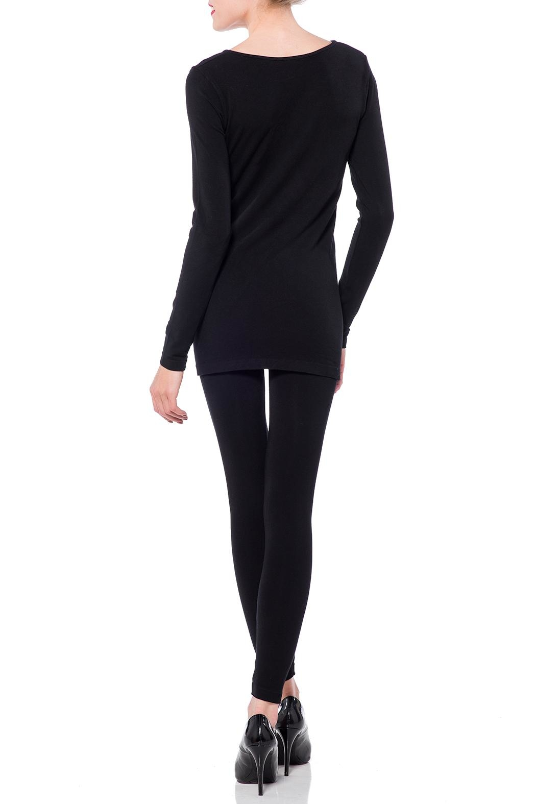 Cest Moi Bamboo Long Sleeve Top - Front Full Image
