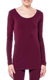Cest Moi Bamboo Longsleeve Top - Product Mini Image