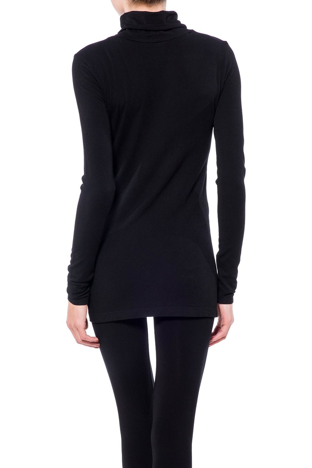 Cest Moi Bamboo High Neck Top - Front Full Image