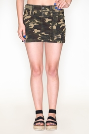 Cest Toi Camo Mini Skirt - Product Mini Image