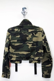 Cest Toi Camo Twill Jacket - Front full body
