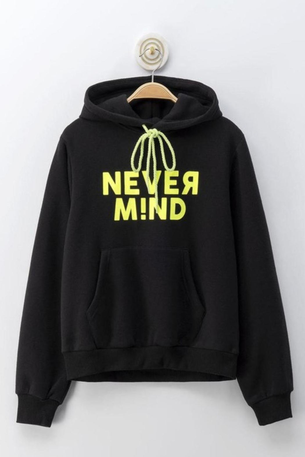 Cest Toi Nevermind Hoodie Sweater - Front Full Image
