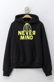 Cest Toi Nevermind Hoodie Sweater - Front full body