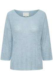 Part Two Cetrona Linen Pullover - Front cropped