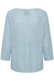 Part Two Cetrona Linen Pullover - Front full body