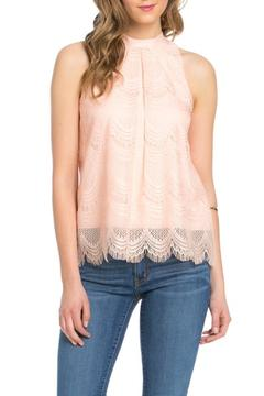 Shoptiques Product: Blush Lace Top
