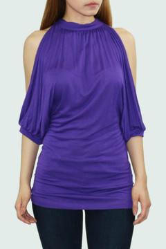 Cezanne Cut Out Sleeve Top - Product List Image