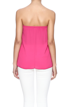 Shoptiques Product: Fuchsia Ruffle Top