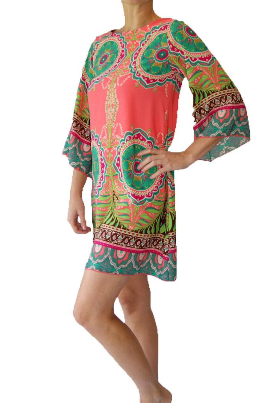 5784548ca4c Cezanne Paisley Tunic Dress from Ohio by Kelly's Boutique — Shoptiques