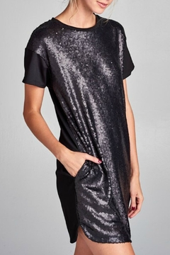 Cezanne Sequin Short Dress - Alternate List Image