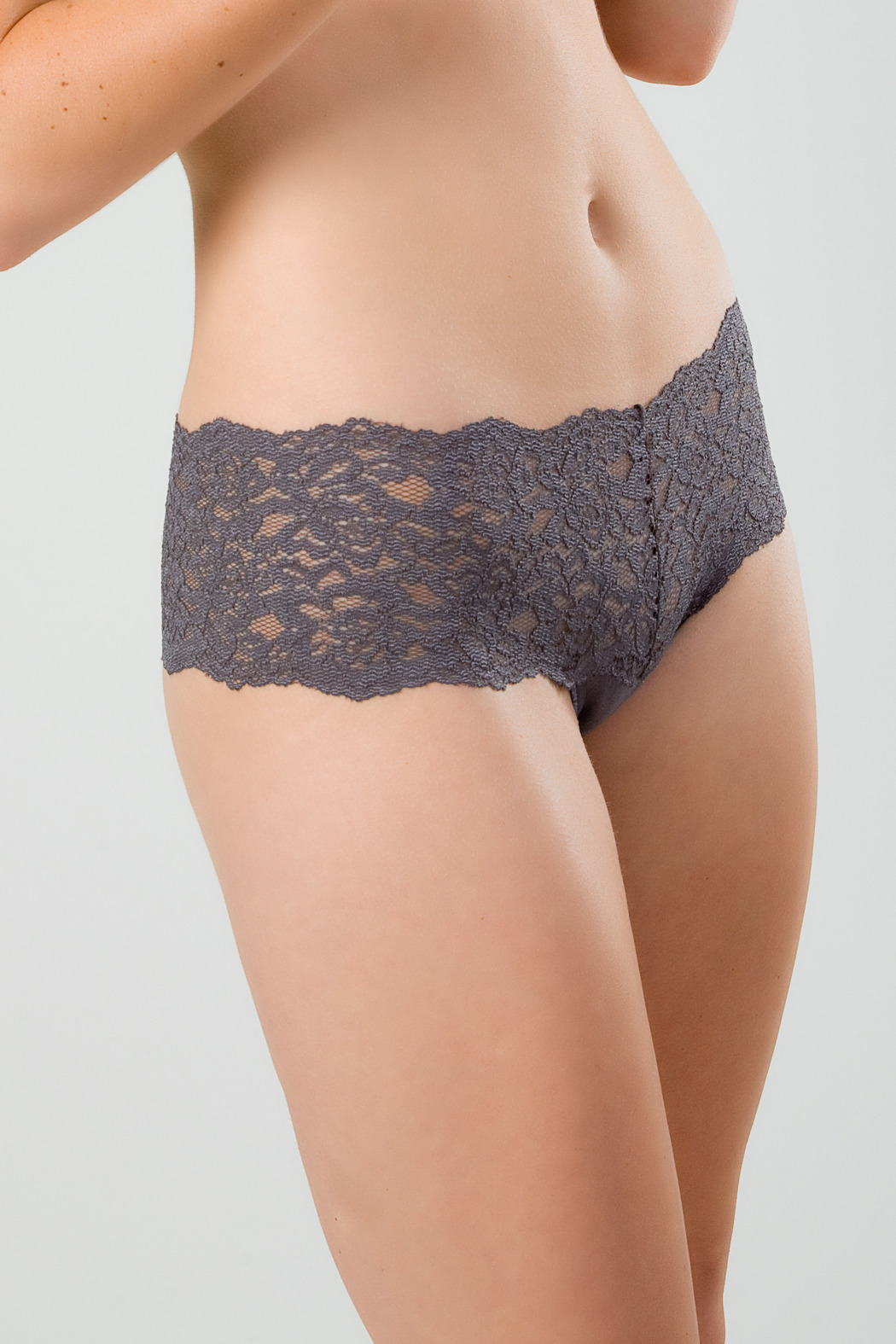 KnockOut! Smart Lacy Panty - Front Cropped Image