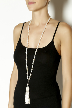 Shoptiques Product: Freshwater Pearl Tassel