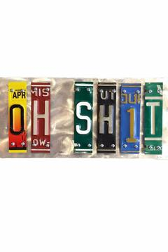 Shoptiques Product: Oh Shit Sign