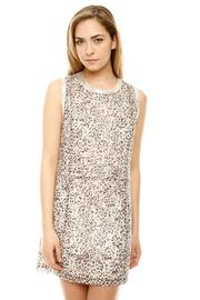 Shoptiques Product: Shimmer Animal Print Dress