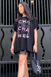 LA Trading Co Cha Cha Nel Graphic Tee - Front cropped
