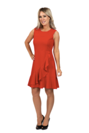 Scapa ChaCha Red Dress - Product Mini Image