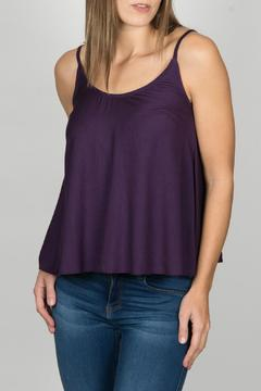 Shoptiques Product: Purple Button Tank
