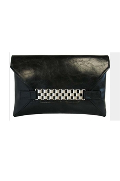 JNB CHAIN BUCKLE ENVELOPE CLUTCH - Product List Image