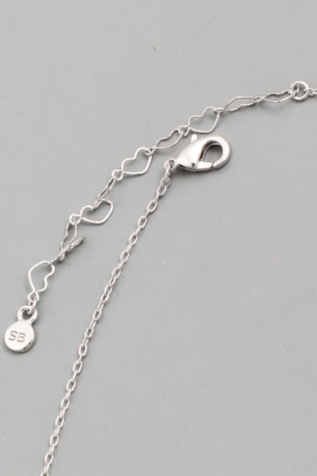 Secret Box Chain Charm Necklace - Side Cropped Image