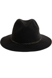 Fashionomics Chain Detail Fedora - Front cropped