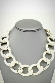 Embellish Chain Link Necklace - Front cropped