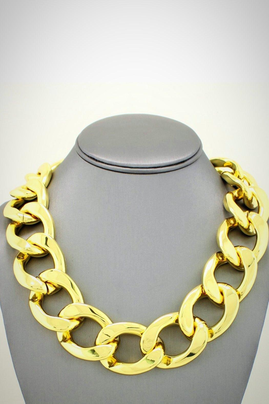 Embellish Chain Link Necklace - Main Image