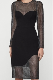 BCBG MAXAZRIA Chain Mail Dress - Front cropped