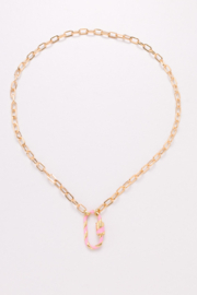 Nakamol  Chain Necklace with Chunky Clasp - Front cropped