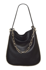 INZI Chain Shoulder Bag - Front cropped
