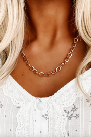 Boho Love Chained Together Necklace - Product Mini Image