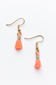Chains by Lauren Mini Tassel Earrings - Alternate List Image