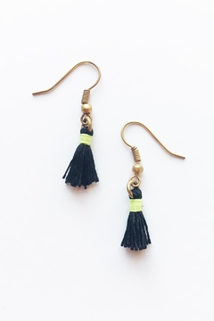 Chains by Lauren Mini Tassel Earrings - Product List Image