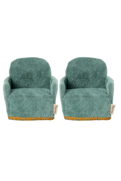 Maileg Chair 2 Pack Mouse PREORDER - Alternate List Image