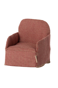 Maileg Chair Mouse Red PREORDER - Product List Image