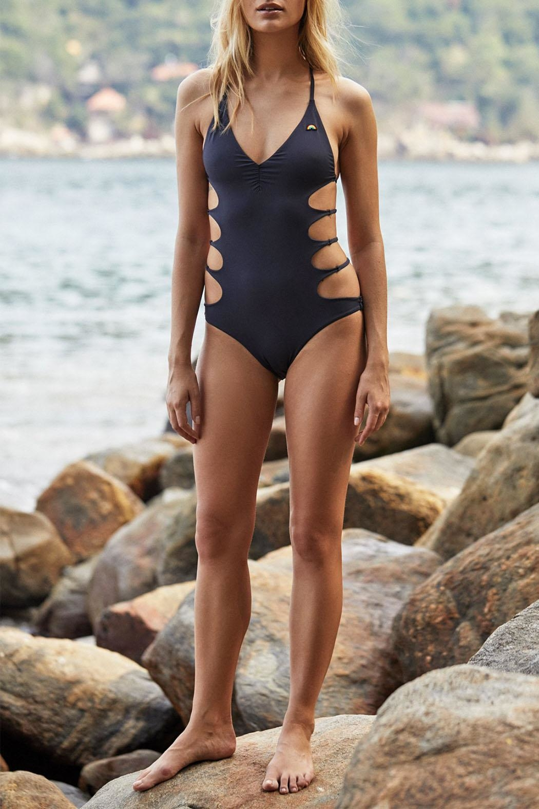 47bb34194f8 SPIRITUAL GANGSTER Chakra One-Piece Swimsuit from Canada by Envy ...