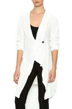 Shoptiques Product: Asymmetric Winter White Sweater