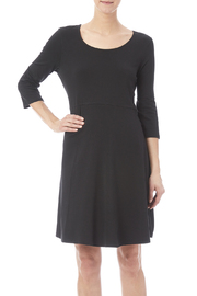 Chalet Black Empire Waist Dress - Product Mini Image