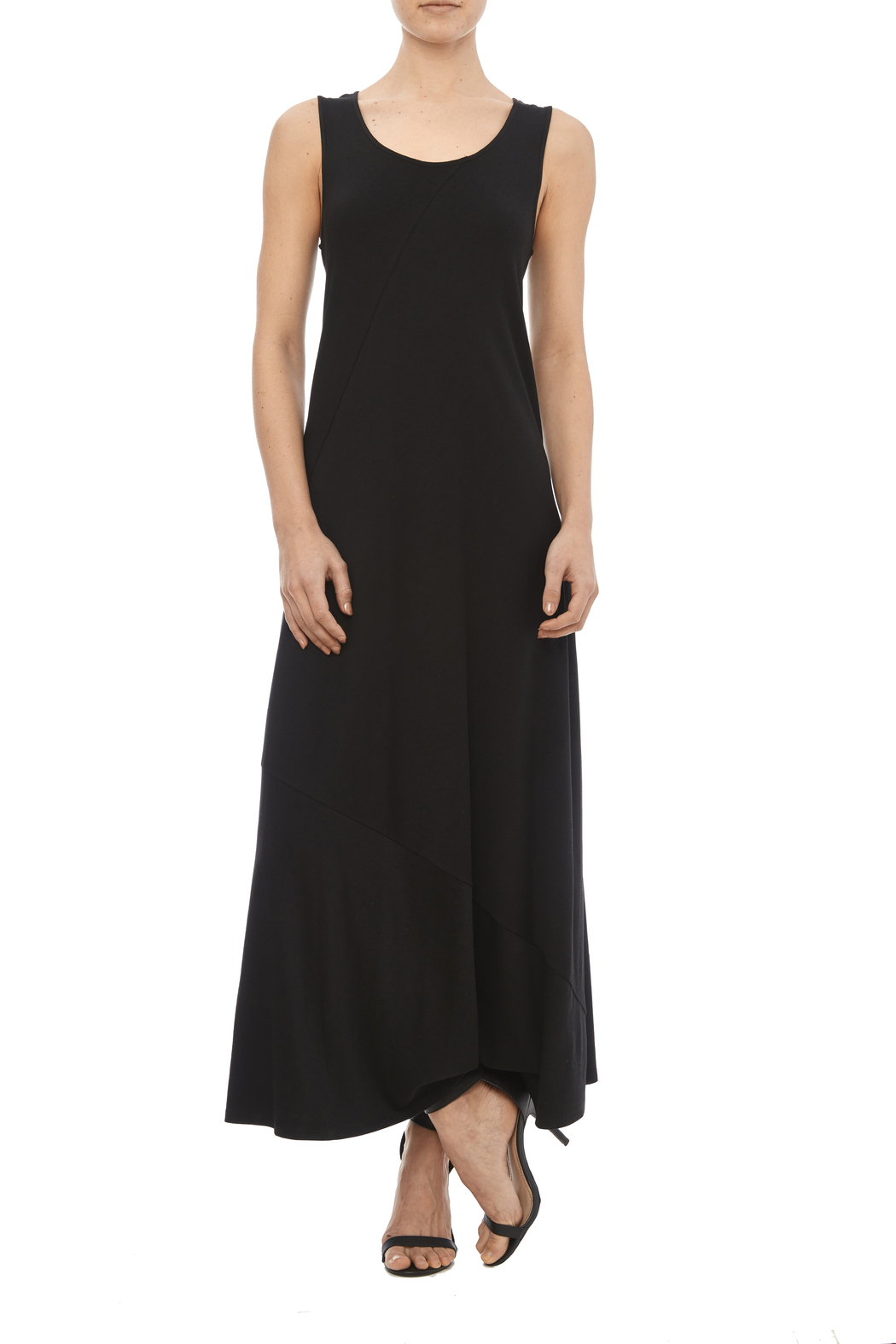 Chalet Black Tank Dress - Main Image