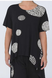 Chalet  Polka Dot Tunic Top - Product Mini Image