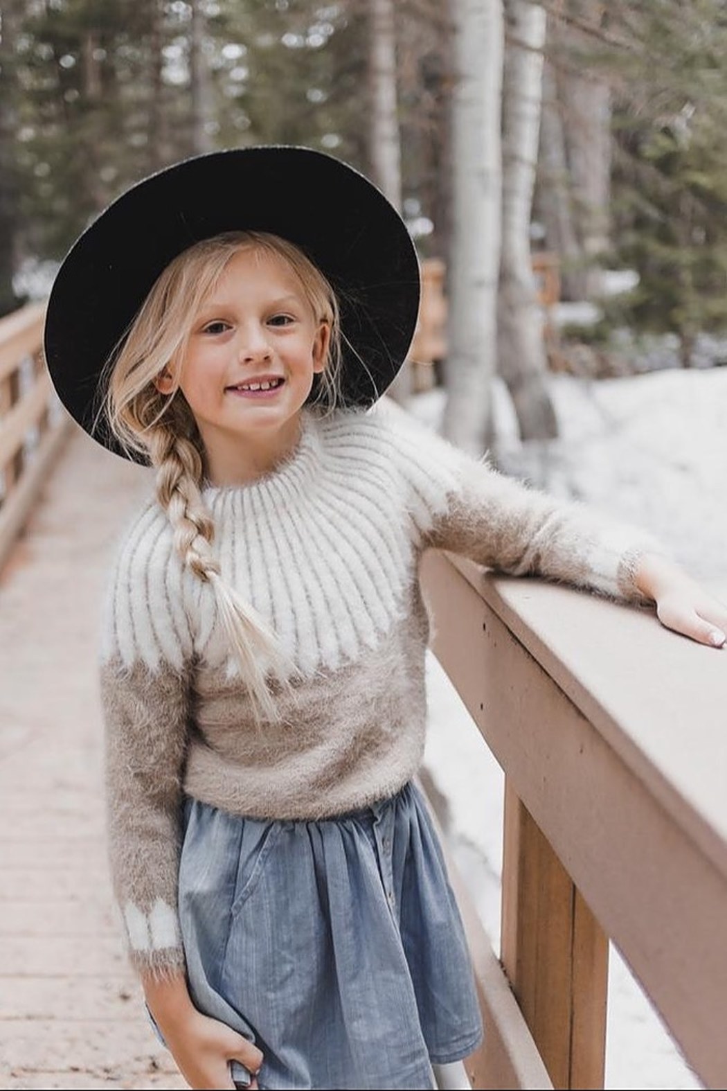Rylee & Cru Chalet Sweater - Front Full Image