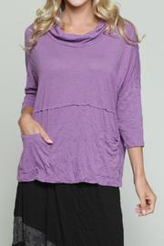 Chalet et ceci Cornelia Plum Top - Front full body