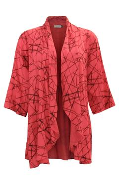 Shoptiques Product: Rayon Coral Cardigan