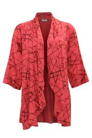 Chalet et ceci Rayon Coral Cardigan - Product Mini Image
