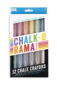 Ooly Chalk-O-Rama Dustless Chalk Crayons - Alternate List Image