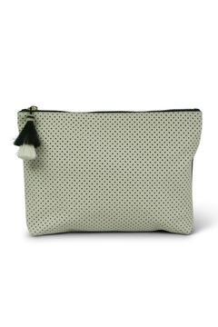 Kempton & Co. Chalk Perforated Pouch - Alternate List Image